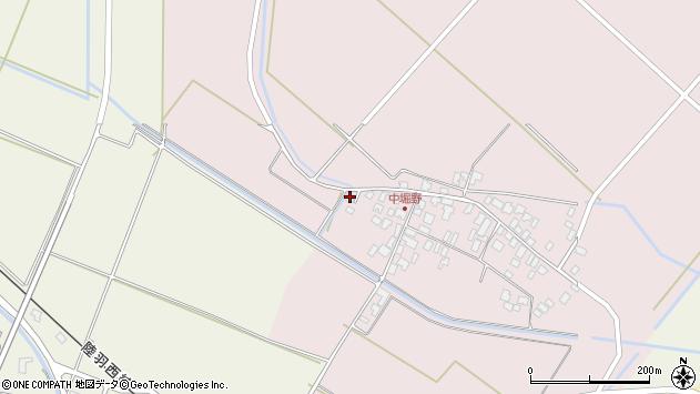 山形県東田川郡庄内町堀野中堀野94周辺の地図