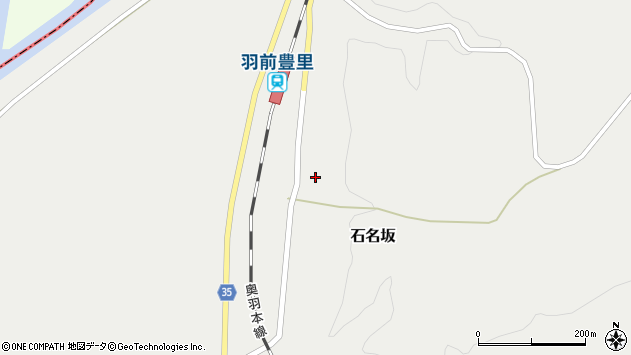 山形県最上郡鮭川村石名坂23周辺の地図