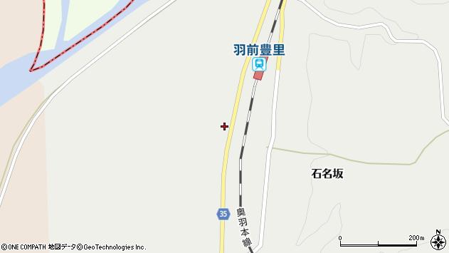山形県最上郡鮭川村石名坂244周辺の地図