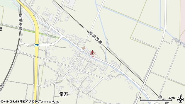 山形県東田川郡庄内町常万常岡91周辺の地図