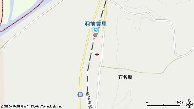 山形県最上郡鮭川村石名坂57周辺の地図