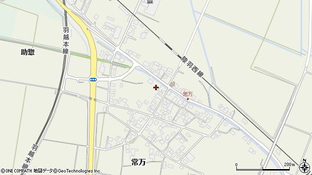 山形県東田川郡庄内町常万常岡76周辺の地図