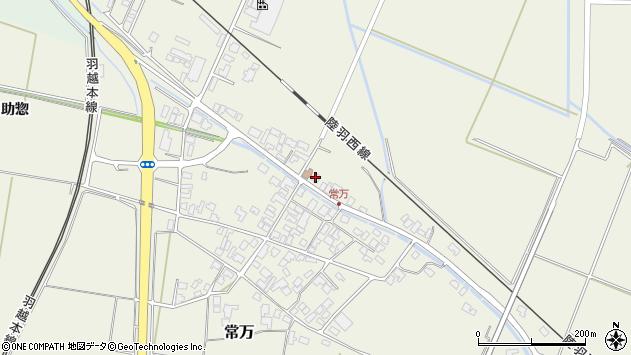 山形県東田川郡庄内町常万常岡90周辺の地図