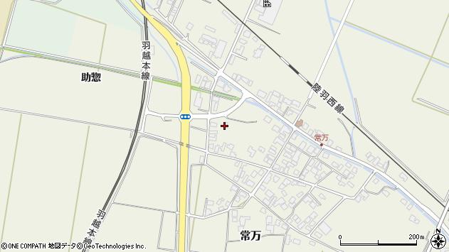 山形県東田川郡庄内町常万助惣26周辺の地図