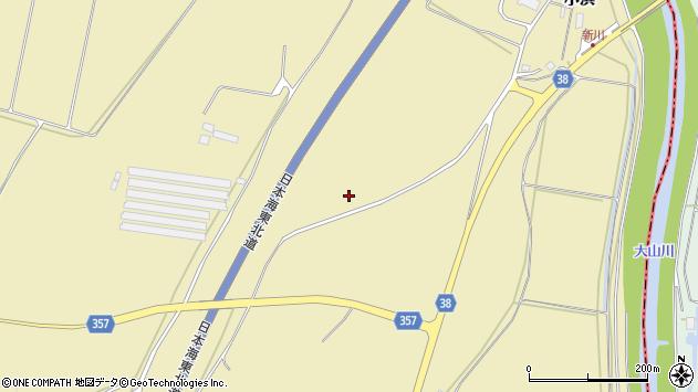 山形県酒田市浜中東割周辺の地図