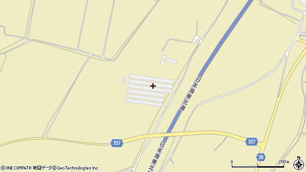 山形県酒田市浜中新林595周辺の地図