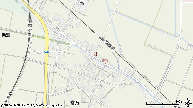 山形県東田川郡庄内町常万常岡88周辺の地図