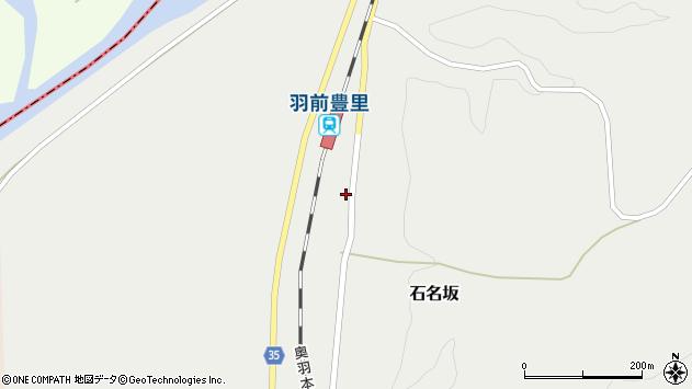 山形県最上郡鮭川村石名坂61周辺の地図