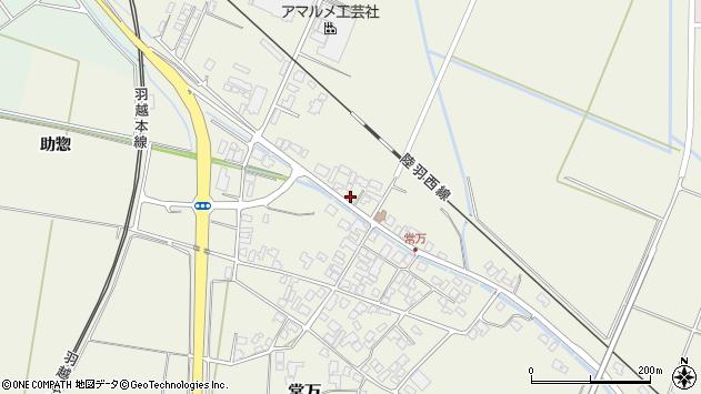 山形県東田川郡庄内町常万常岡86周辺の地図