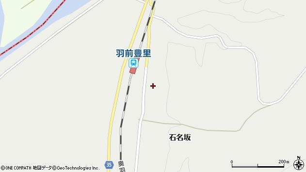 山形県最上郡鮭川村石名坂19周辺の地図