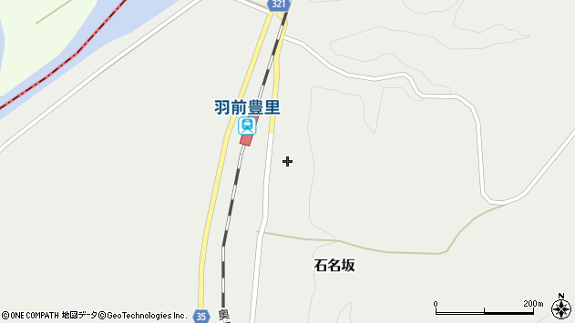 山形県最上郡鮭川村石名坂18周辺の地図