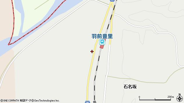 山形県最上郡鮭川村石名坂149周辺の地図