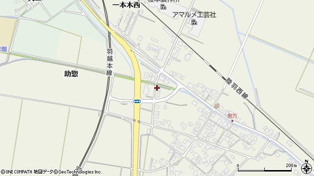 山形県東田川郡庄内町常万助惣16周辺の地図
