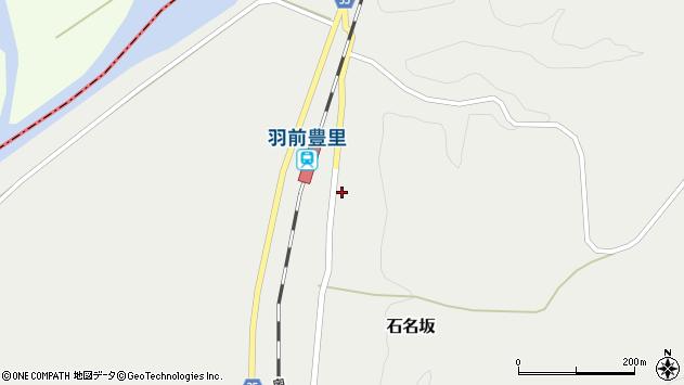 山形県最上郡鮭川村石名坂17周辺の地図