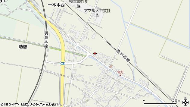 山形県東田川郡庄内町常万大乗向5周辺の地図