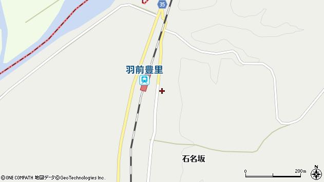 山形県最上郡鮭川村石名坂15周辺の地図