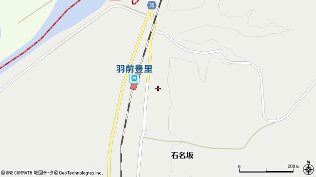 山形県最上郡鮭川村石名坂16周辺の地図