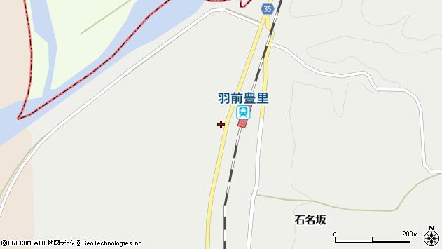 山形県最上郡鮭川村石名坂147周辺の地図