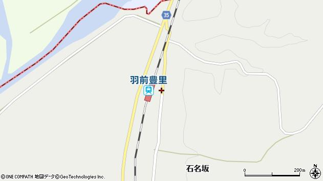 山形県最上郡鮭川村石名坂67周辺の地図