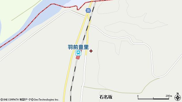 山形県最上郡鮭川村石名坂12周辺の地図