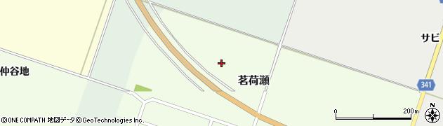 山形県東田川郡庄内町茗荷瀬北谷地周辺の地図