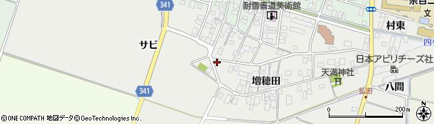 山形県東田川郡庄内町払田増穂田63周辺の地図