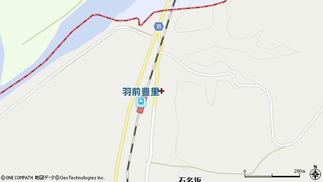 山形県最上郡鮭川村石名坂11周辺の地図