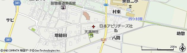 山形県東田川郡庄内町払田増穂田129周辺の地図
