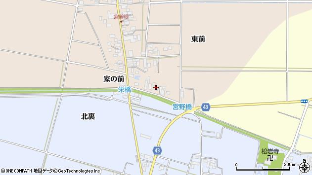 山形県東田川郡庄内町宮曽根家の前5周辺の地図