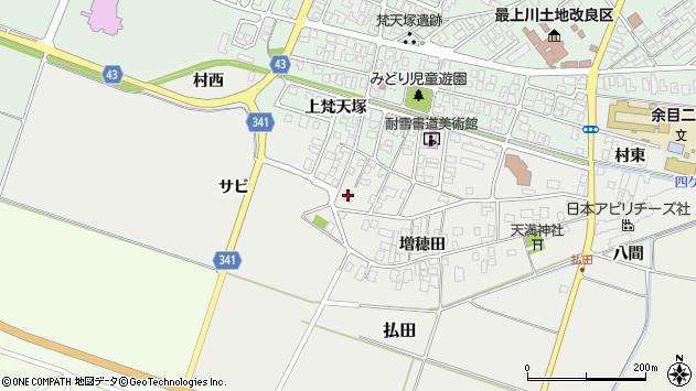 山形県東田川郡庄内町払田サビ81周辺の地図