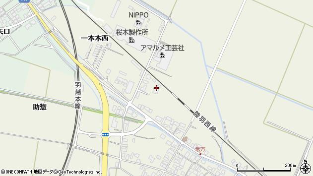山形県東田川郡庄内町常万大乗向38周辺の地図