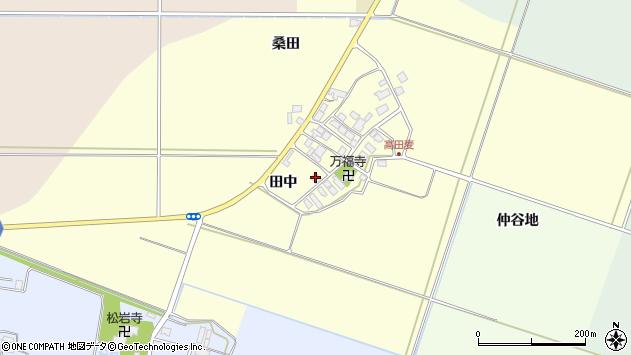 山形県東田川郡庄内町高田麦田中48周辺の地図
