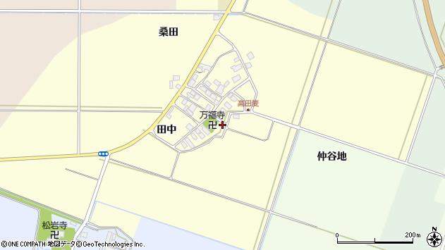 山形県東田川郡庄内町高田麦田中35周辺の地図
