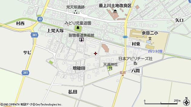 山形県東田川郡庄内町払田サビ53周辺の地図