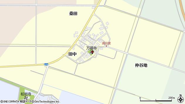 山形県東田川郡庄内町高田麦田中46周辺の地図