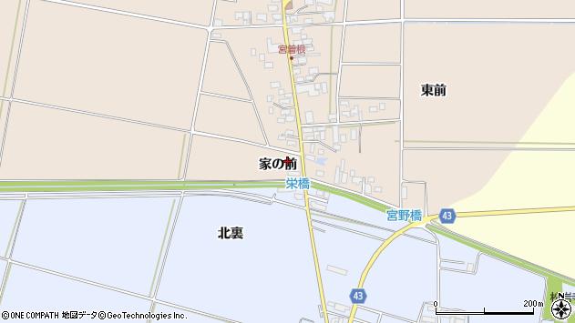 山形県東田川郡庄内町宮曽根家の前9周辺の地図