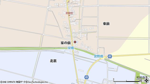 山形県東田川郡庄内町宮曽根家の前6周辺の地図