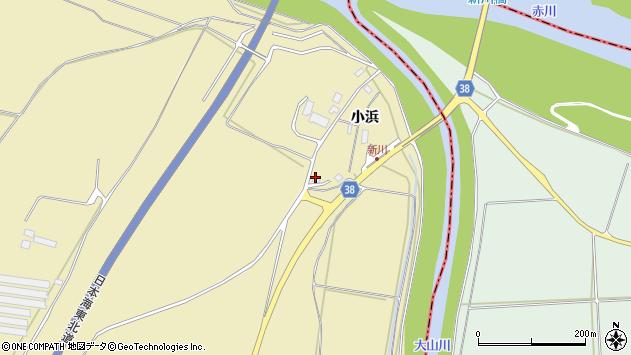 山形県酒田市浜中小浜70周辺の地図