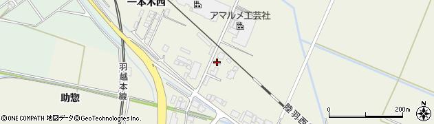 山形県東田川郡庄内町常万大乗向43周辺の地図