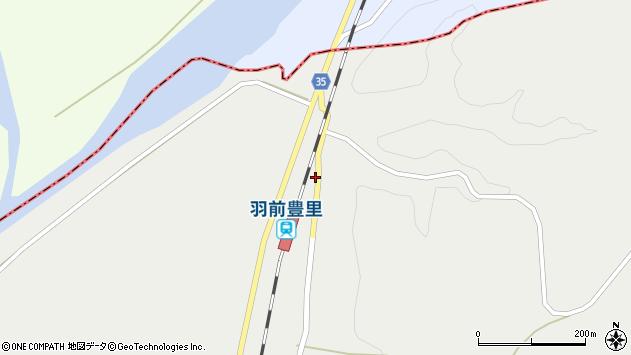山形県最上郡鮭川村石名坂72周辺の地図