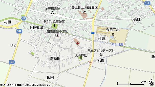 山形県東田川郡庄内町払田サビ40周辺の地図