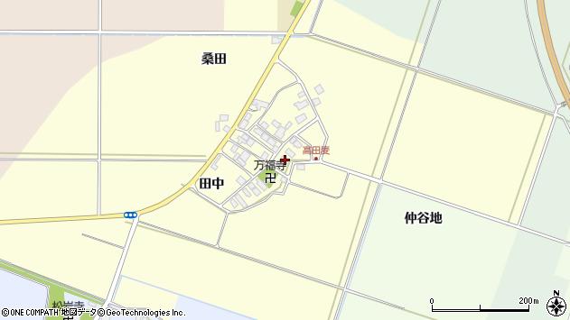 山形県東田川郡庄内町高田麦田中34周辺の地図
