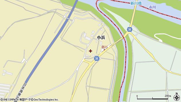 山形県酒田市浜中小浜74周辺の地図