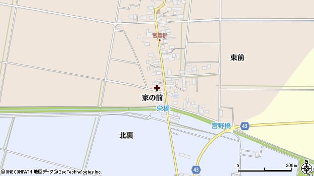 山形県東田川郡庄内町宮曽根宮の前5周辺の地図