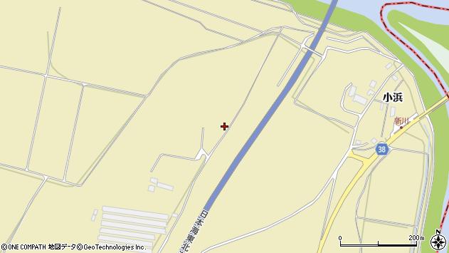 山形県酒田市浜中新林1666周辺の地図