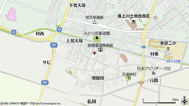山形県東田川郡庄内町払田サビ49周辺の地図