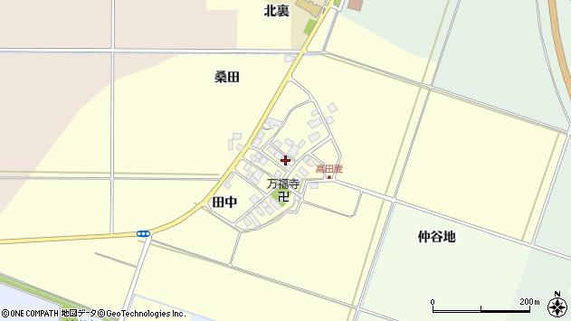 山形県東田川郡庄内町高田麦田中29周辺の地図