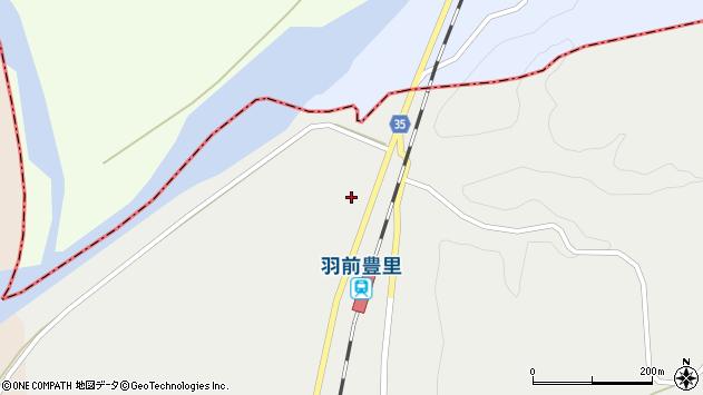 山形県最上郡鮭川村石名坂84周辺の地図