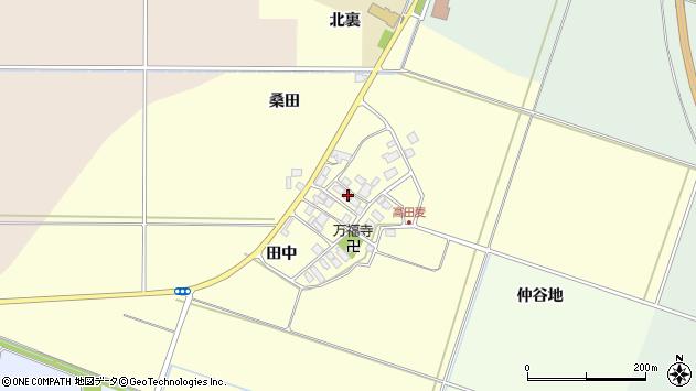 山形県東田川郡庄内町高田麦田中30周辺の地図