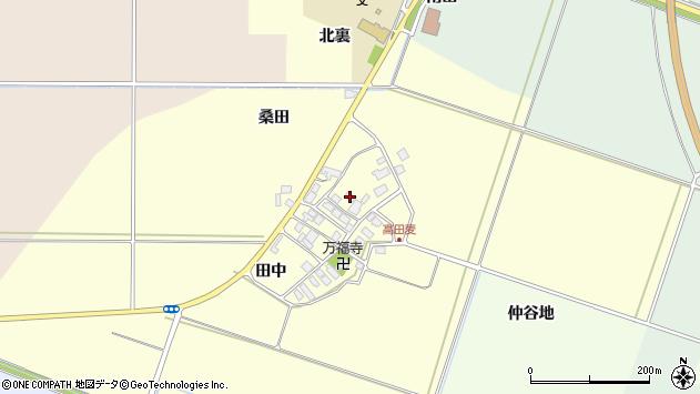 山形県東田川郡庄内町高田麦田中24周辺の地図